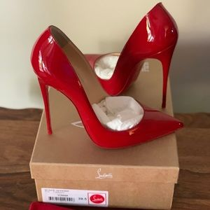 Louboutin Limited Edition Flamenco Red So Kate 120